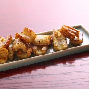 バターカレー炒め(ちくわ)